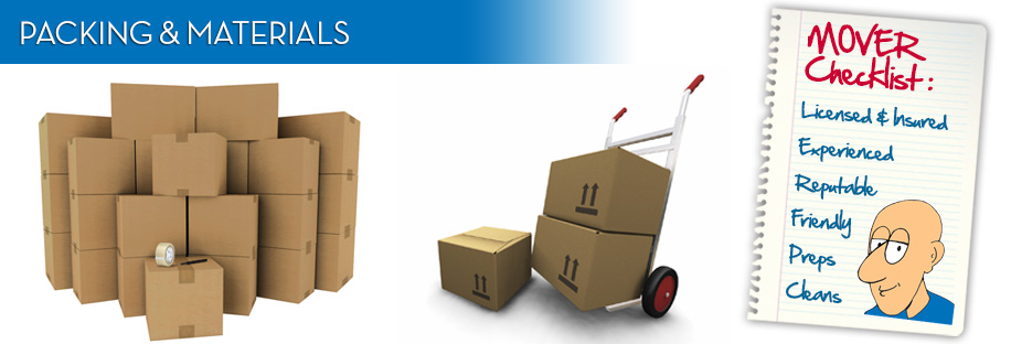 moving packing materials